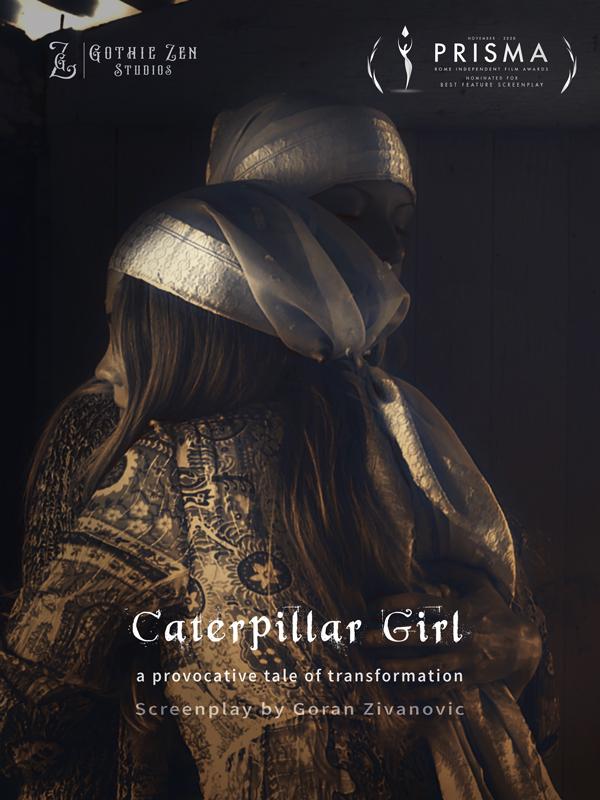 Caterpillar-Girl-Poster-Gothic-Zen-Studios-Summer-Pepper